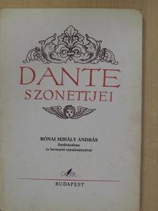 Dante - Dante szonettjei [antikvár]