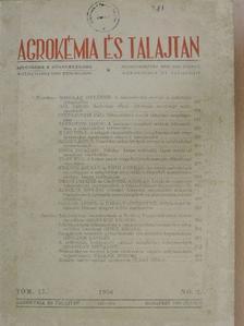 Alföldi István - Agrokémia és talajtan 1966. június [antikvár]