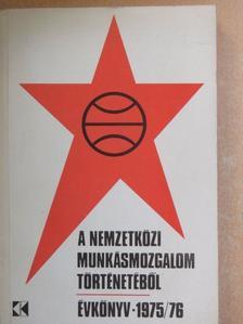 A. I. Babonyin - A nemzetközi munkásmozgalom történetéből 1975-76 [antikvár]
