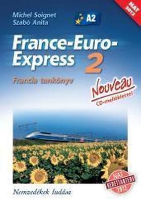 13298/NAT - France-Euro-Express 2 Nouveau Francia tankönyv [13298/NAT]