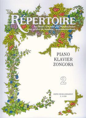 RÉPERTOIRE ZENEISKOLÁSOKNAK ZONGORA 2 (SÁRMAI JÓZSEF)