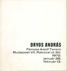 VADAS JÓZSEF - Orvos András [antikvár]