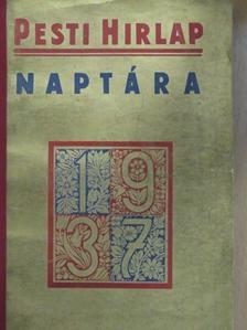 Camillo Zavaleta - A Pesti Hirlap Naptára 1937 [antikvár]