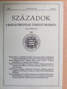 Balogh László - Századok 1998/4. [antikvár]