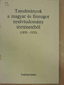 Bakos József - Tanulmányok a magyar és finnugor nyelvtudomány történetéből [antikvár]