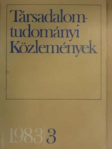 Balogh István - Társadalomtudományi Közlemények 1983/3. [antikvár]