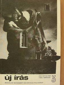 Baránszky Jób László - Új Írás 1982. március [antikvár]