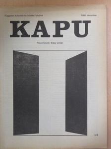 Balla Gyula - Kapu 1988. december [antikvár]