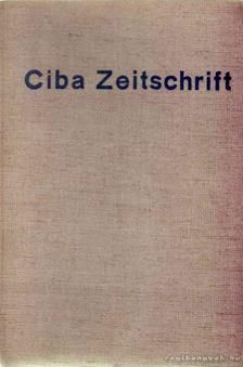 Ciba Zeitschrift 1934 aug.-1935 jul. [antikvár]