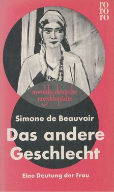 Simone de Beauvoir - Das andere Geschlecht [antikvár]
