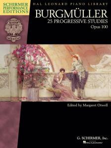 BURGMÜLLER - 25 PROGRESSIVE STUDIES OP.100