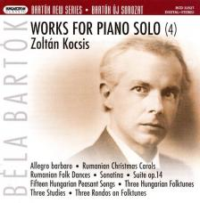 BARTÓK - WORKS FOR PIANO SOLO (4) SACD - FIX