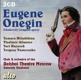 Tchaikovsky - EUGENE ONEGIN 2CD YURI MAZUROK
