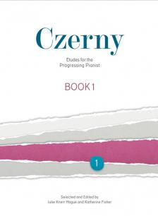 CZERNY - ETUDES FOR THE PROGRESSING PINAIST BOOK 1