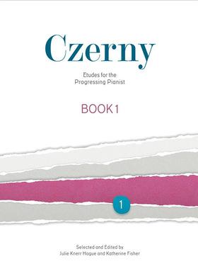 CZERNY - ETUDES FOR THE PROGRESSING PINAIST BOOK 1