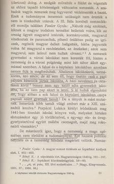 Dr. Békefi Remig - A káptalani iskolák története Magyarországon 1540-ig [antikvár]