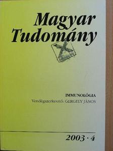 Ács Tibor - Magyar Tudomány 2003. április [antikvár]