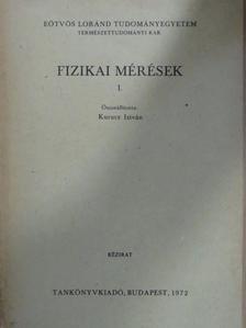 Borbély Imre - Fizikai mérések I. [antikvár]