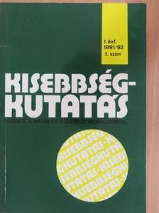 Ács Zoltán - Kisebbségkutatás 1991-92/3. [antikvár]