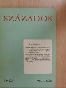 Borsi-Kálmán Béla - Századok 1985/3. [antikvár]