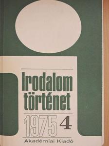 Almási Miklós - Irodalomtörténet 1975/4. [antikvár]