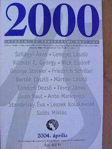 Bertók László - 2000 2004. április [antikvár]