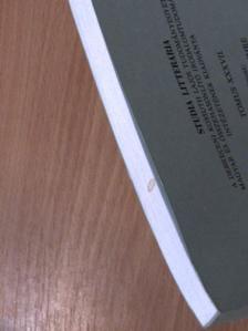 Asztalos Éva - Studia litteraria iuvenum [antikvár]