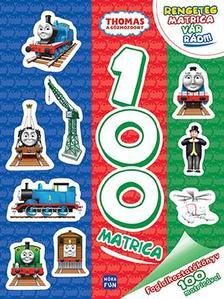 Thomas, a gőzmozdony - Foglalkoztatókönyv 100 matricával