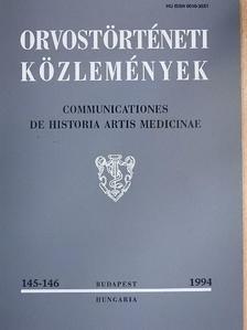 Bernard Le Calloc'h - Orvostörténeti közlemények 145-146. [antikvár]