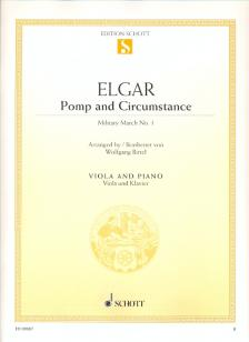 ELGAR - POMP AND CIRCUMSTANCE, MILITARY MARCH NO.1 FOR VIOLA AND PIANO (W.BIRTEL)