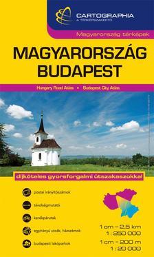Cartographia Kiadó - Magyarország + Budapest kombi atlasz