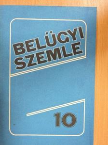 Bárány István - Belügyi szemle 1989. október [antikvár]