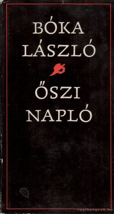 Boka László - Őszi napló [antikvár]