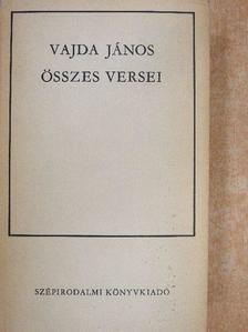 Vajda János - Vajda János összes versei [antikvár]