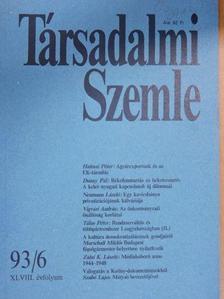 Dunay Pál - Társadalmi Szemle 1993. június [antikvár]