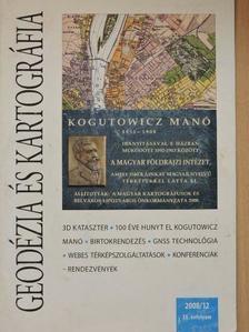 Dömsödi János - Geodézia és kartográfia 2008/12. [antikvár]