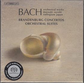 Bach - BRANDENBURG CONCERTOS&ORCHESTRAL SUITES,3 CD