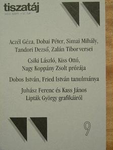Aczél Géza - Tiszatáj 2003. szeptember [antikvár]
