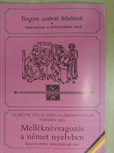 Horváth Iván - Melléknévragozás a német nyelvben [antikvár]