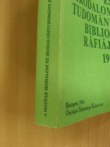 Abet Ádám - A magyar irodalom és irodalomtudomány bibliográfiája 1979 [antikvár]