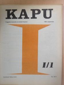 Balázsi Tibor - Kapu 1988. szeptember [antikvár]