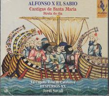 ALFONSO X EL SABIOLA - CANTIGAS DE SANTA MARIA,CD