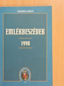 Balázs Ferenc - Emlékbeszédek 1998 [antikvár]