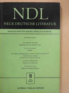 Alfred Magul-Sperber - Neue Deutsche Literatur 1957/8. [antikvár]