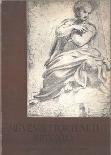 Fülep Lajos - Művészettörténeti értesítő VIII. évf. 1. szám [antikvár]