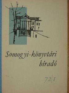 Joó Sándorné - Somogyi-könyvtári híradó 1972. február [antikvár]