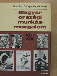 Borsányi György - Magyarországi munkásmozgalom [antikvár]