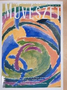 András Edit - Új Művészet 2001. április [antikvár]