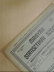 Dr. Asztalos József - Magyar Statisztikai Szemle 1936. július [antikvár]