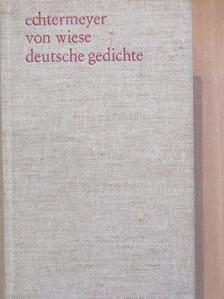 Johann Wolfgang von Goethe - Deutsche Gedichte [antikvár]